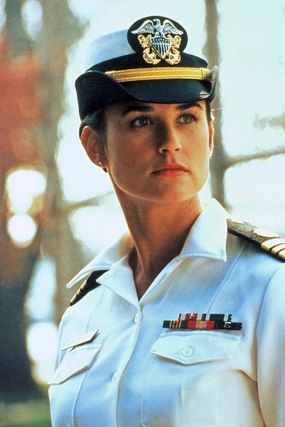'A Few Good Men' (1992) by Rob Reiner. This totally shouldn't be my sort of movie. It takes place mostly in court and involves the U.S. Marines. Found the story and the criminal case oddly endearing though. Enjoyed performances by Tom Cruise, Jack Nicholson and Demi Moore. See if you're a Cruise fan and like court cases with big actors. First and only time viewing.