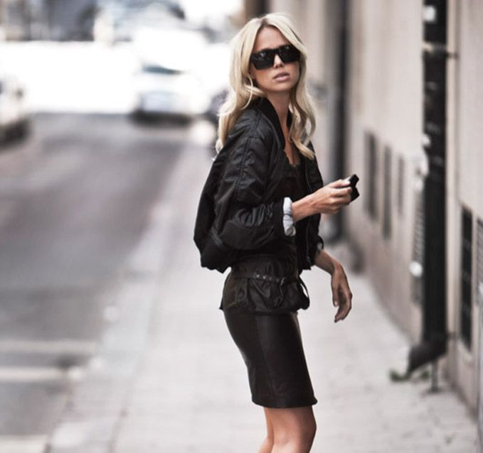 Leather + Leather + Leather