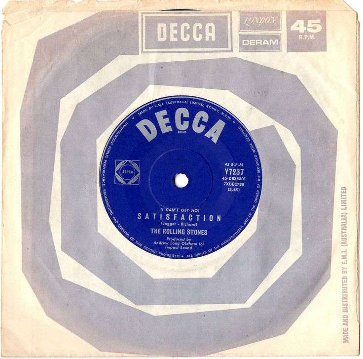 The Rolling Stones I Can T Get No Satisfaction Rare
