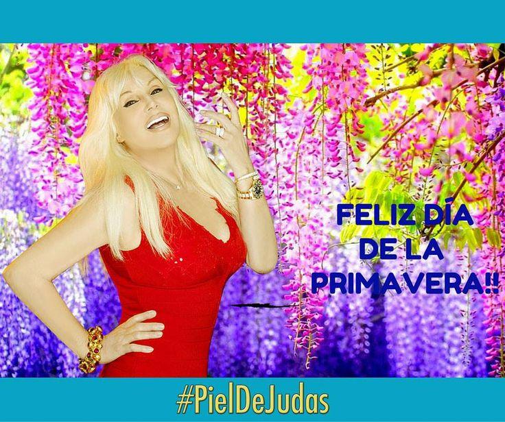 ¡FELIZ PRIMAVERA! Susana Giménez - 21/09/15 @Su_Gimenez #PielDeJudas2015 @revistasusana
