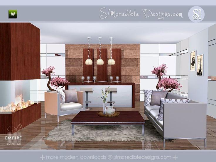 20 Besten Lounge Bilder Auf Pinterest Sims 3 Wohnzimmer Modern
