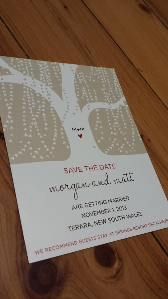 We love this Save The Date magnet. Custom invitations are our specialty. We can make your design dreams come true for Engagement, Hens, Bucks, Kitchen Tea, Save The Date and Wedding Invites. admin@littlepaperboat.net www.facebook.com/lilpaperboat