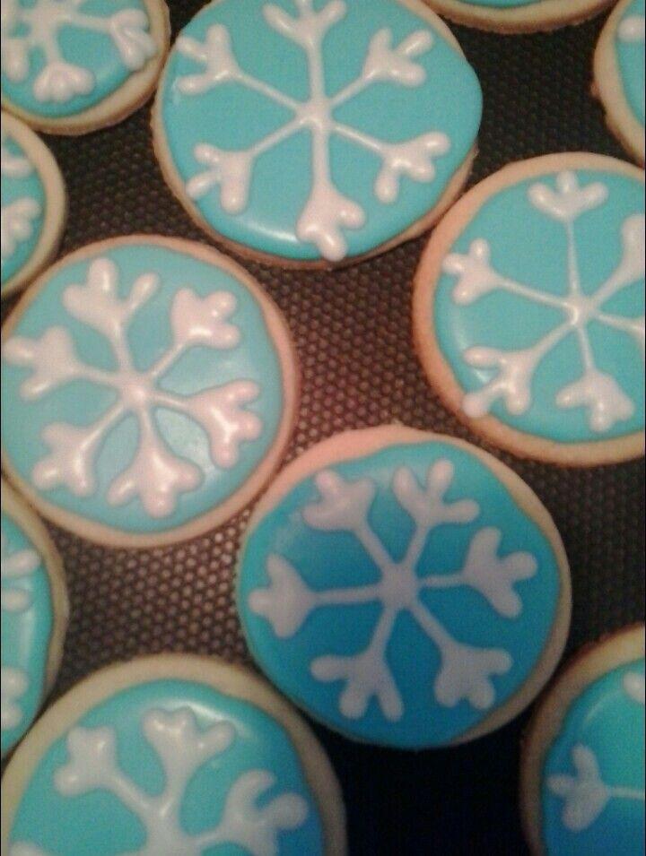 Snow Flake Cookies!
