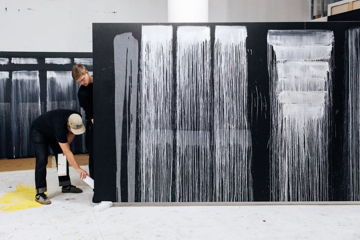 Pat steir gets discovered again the new york times
