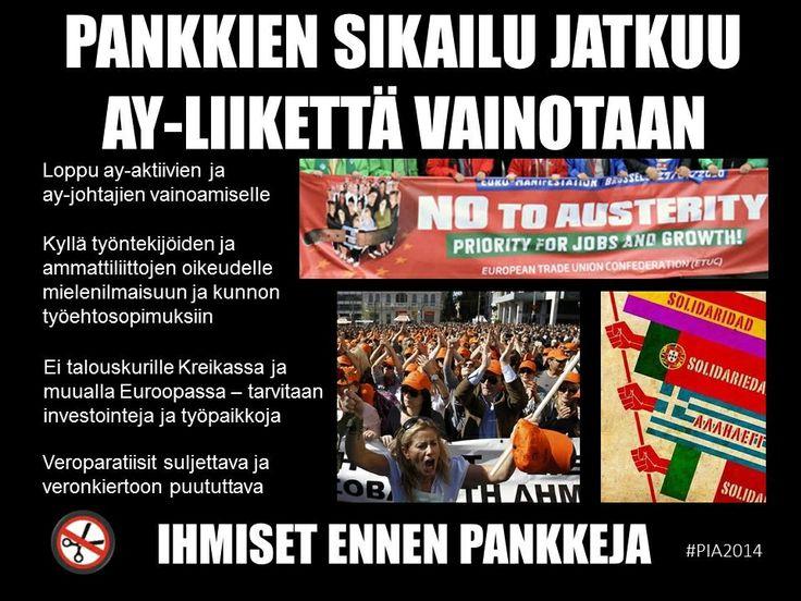 #Pankit #eurokriisi #ayliike