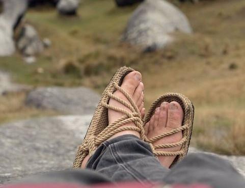 """Rope Sandals"" - Corda Rope Sandals"