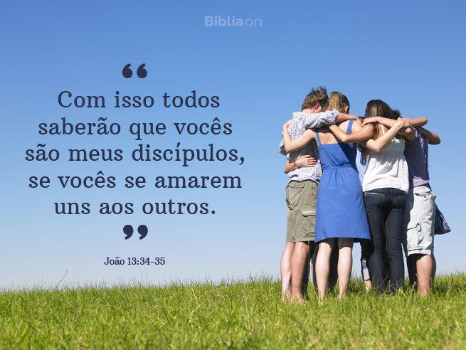 3 coisas que acontecem quando amamos uns aos outros         O amor é uma força muito poderosa. Jesus disse que o segundo maior mandamento, depois de amar a Deus, é amar o nosso próximo. Quando amamos uns aos outros, 3 coisas muito importantes acontecem: 1. Perdão          O amor libera perdão. Quando amamos uns aos outros, escolhemos não guardar ressentimento. O pe (...) https://www.bibliaon.com/o_poder_de_amar_o_proximo/shared_image/joao_13_34_35_com_isso_todos_saberao_que_voces_sao.jpg