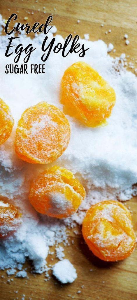 With a few simple steps you can starting adding a salt cured egg yolk to all your meals for a boost of flavor!