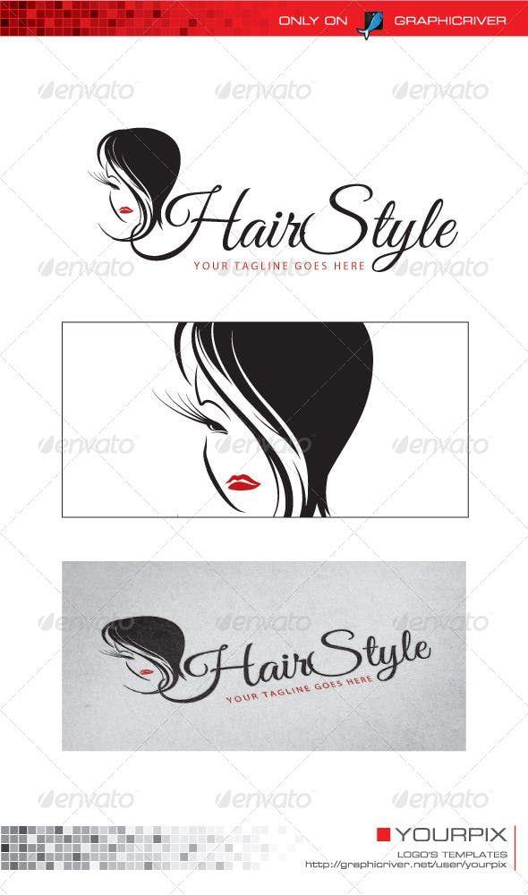 Hair Style Logo Hair Logo Human Logo Logo Templates