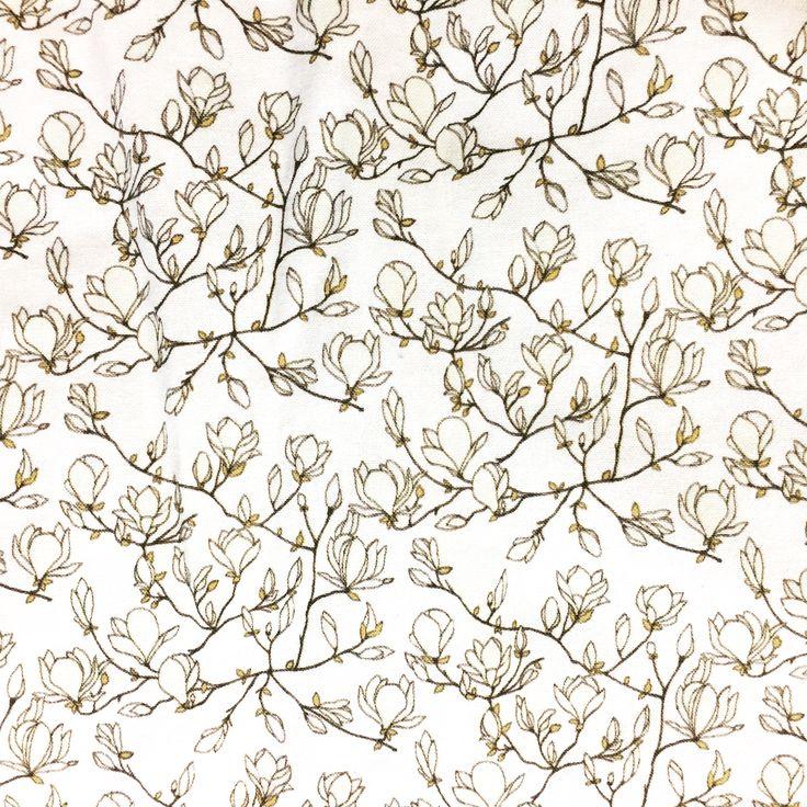 Magnolia fabric  Cushions+Pillows  design by.elin