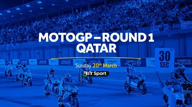Watch round one of the MotoGP season live from Qatar on BT Sport 2.
