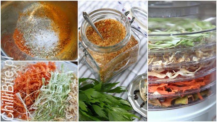 domowa vegeta, suszone warzywa do zup