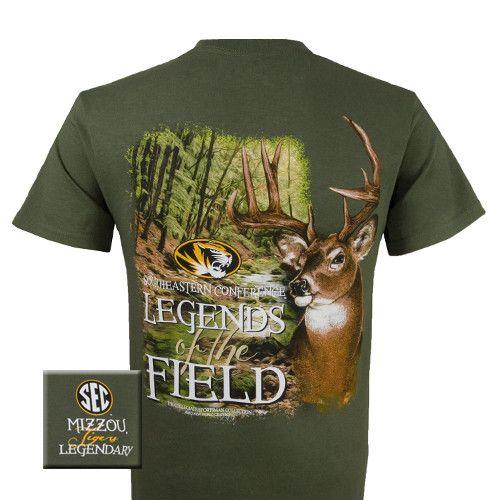 Missouri Tigers MU Mizzou Legends of the Field Deer Unisex Bright T-Shirt