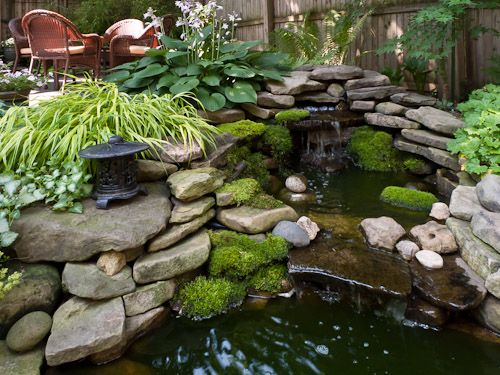 Lancaster Garden Walk: 312 Best Images About Pond And Waterfall Ideas On Pinterest