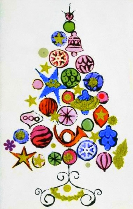 Andy Warhol's Christmas card