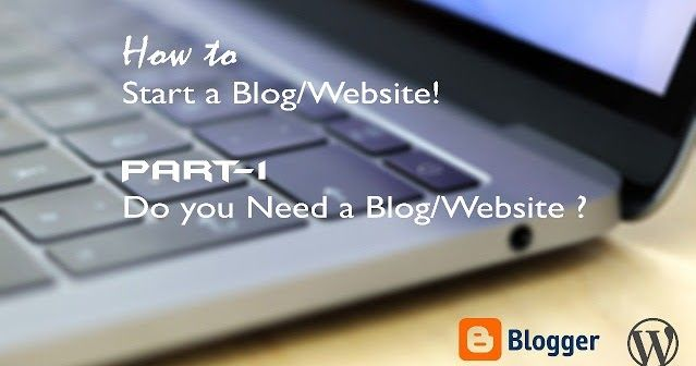 I would like you to know the difference between blog and a website since there is a Major difference in it depending on your purpose/interest you can go on with anyone What is a blog?  Let me put it in a simpler manner a blog is basically a weblog. The Pattern blog follows if the most recent post/content first followed by the previously updated/created content. You can start a blog from scratch giving you the complete system including designing templates layouts etc The blog might be very…