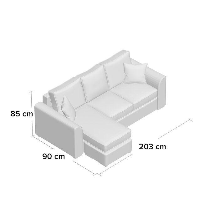 Ranson Reversible Corner Sofa Corner Sofa Large Sofa Bed Corner Sofa Bed