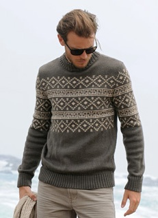 Bergere de France Fair Isle Sweater Pattern