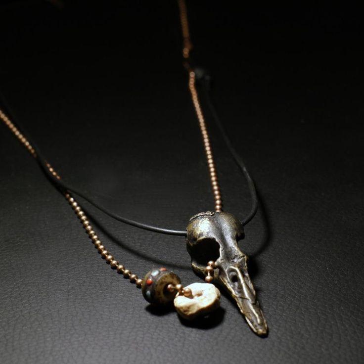 unusex store  #top #accessories #brass #silver #ethnic #fashion #jewelry #handmade #macandlou #bracelets #cool #style #unisex #mcohen #chanluu #unique #amazing #unusex #skulls #spikes #birdskull