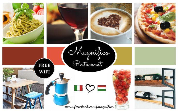 Italiano restaurant moodboard