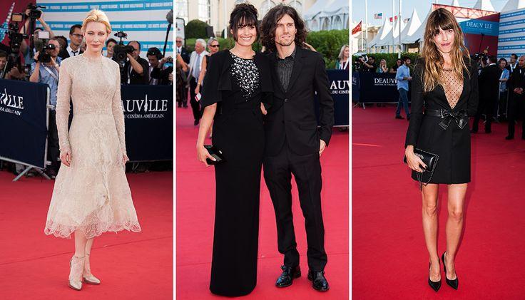 Вчера во французском Довиле открылся 39-й кинофестиваль американского кино Deauville American Film Festival. На красной дорожке были замечены Кейт Бланшетт, Майкл Дуглас, Стивен Содерберг, Лу Дуайон, Фамке Янссен и другие.