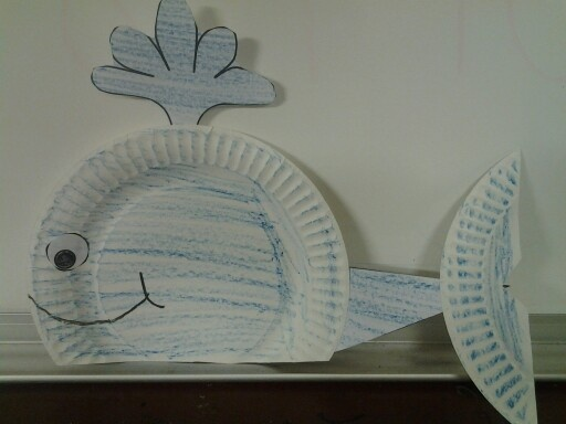 Whale craft Student Crafts