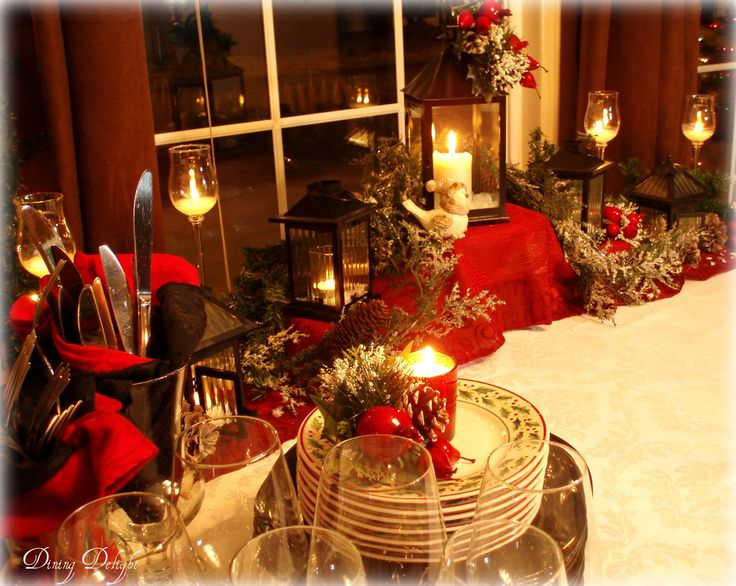 396 Best Christmas Buffet Tablescape Ideas Images On Pinterest