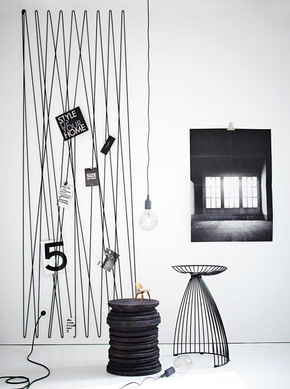 Pinnwand und Kunstwerk in einem - Kreative Ideen für die Wand 2 - [SCHÖNER WOHNEN]