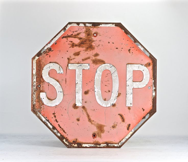 Vintage Stop Sign, Embossed Stop Sign, Red Stop Sign, Metal Stop Sign, Old Metal Stop Sign, 1950's Stop Sign, Large Stop Sign, Stop Sign by HuntandFound on Etsy