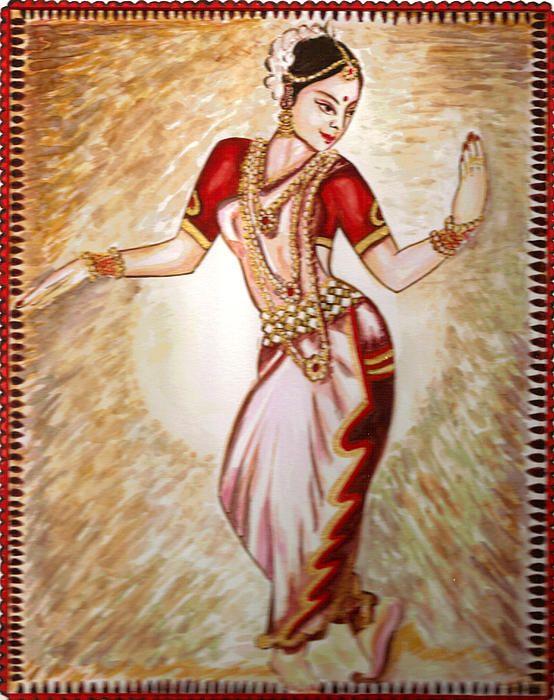 bharatanatyam dance painting - photo #23