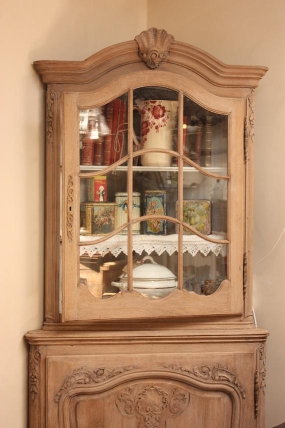 vintage wooden side cabinet