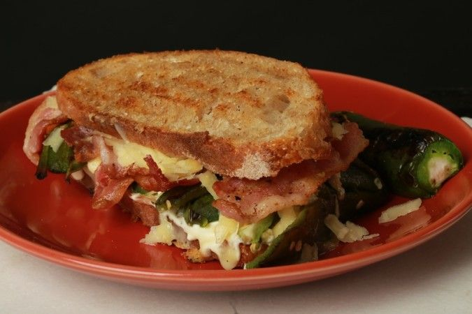 that right. We're talking about a jalapeño popper grilled cheese ...
