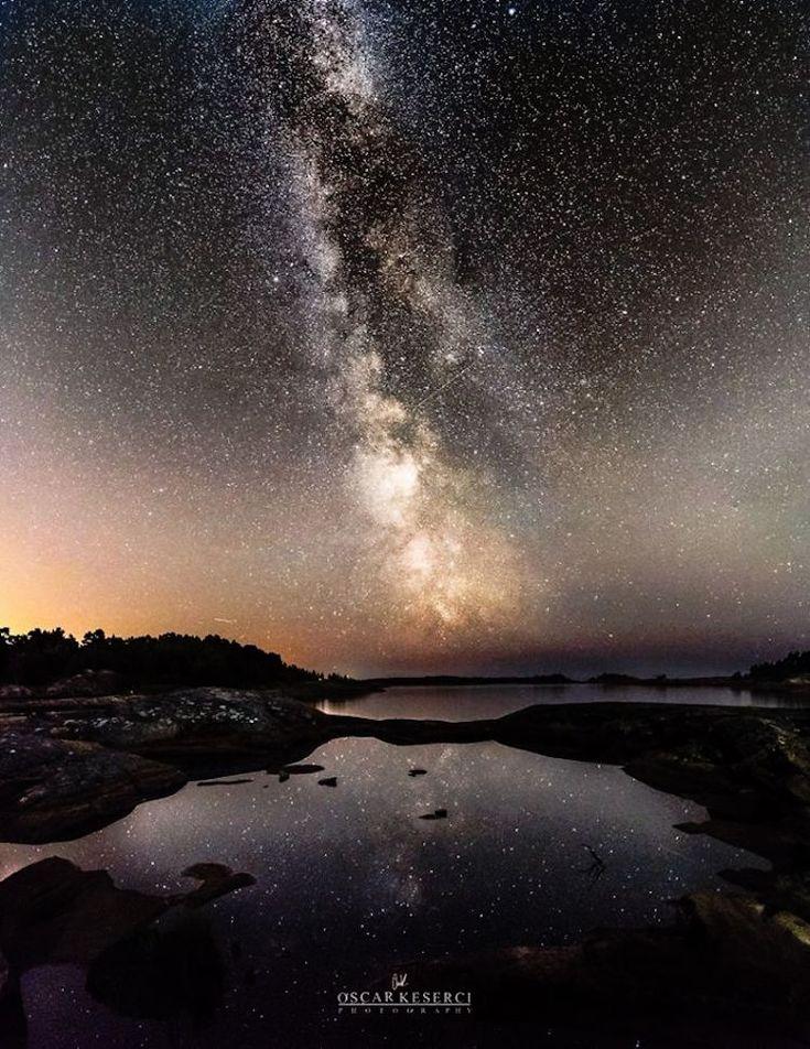 Noches estrelladas en Finlandia por Oscar Keserci
