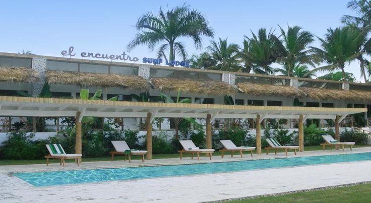 Surf Backpacker Tipp: El Encuentro Surf Lodge - Cabarete - Provinz Puerto Plata - Norden Dominikanischen Republik Surf/Kite/Wakeboarder und Wellenreiter Hot Spot