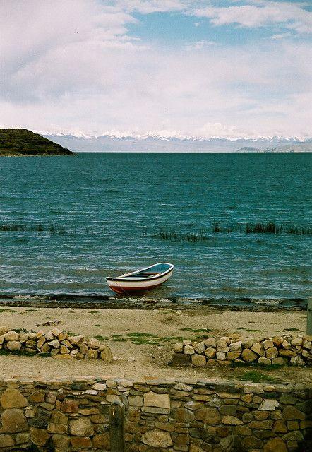 Lake Titica in Bolivia, Peru.