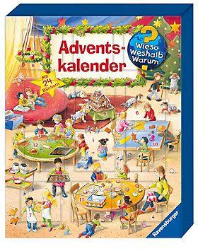 Wieso? Weshalb? Warum? Adventskalender Buch portofrei - Weltbild.de