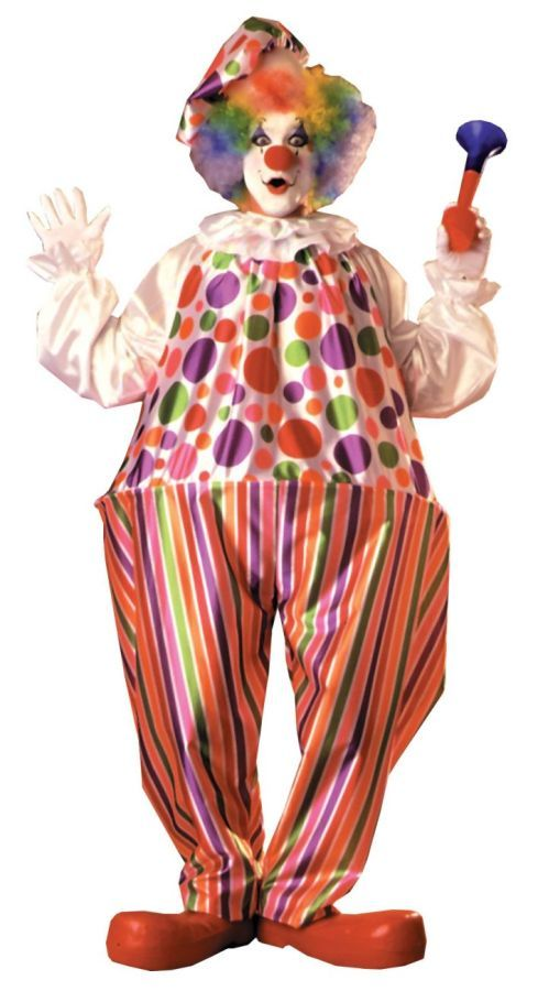 Cool Costumes Snazzy/Harpo Hoop Clown Costume just added...
