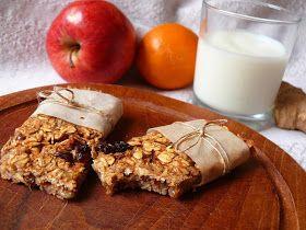 Vöröskaktusz diétázik: Almás mazsolás müzliszelet
