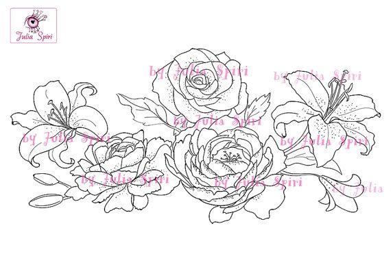 Digital Stamps Digi stamp Wedding stamp Wedding by JuliaSpiri