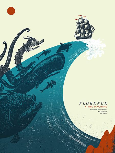 GigPosters.com - Florence + The Machine