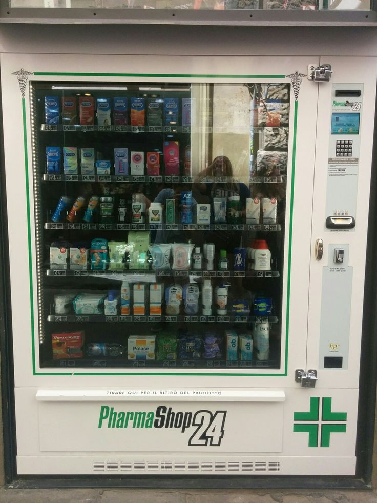 A pharmaceutical vending machine I found by the Via Saint'Elisabetta.  This has some interesting options