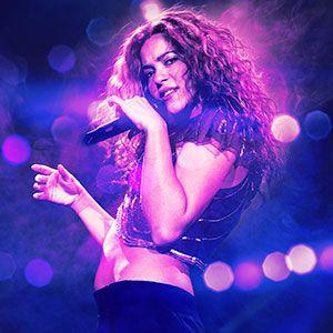 Shakira El Dorado World Tour  Cantante Colombiana