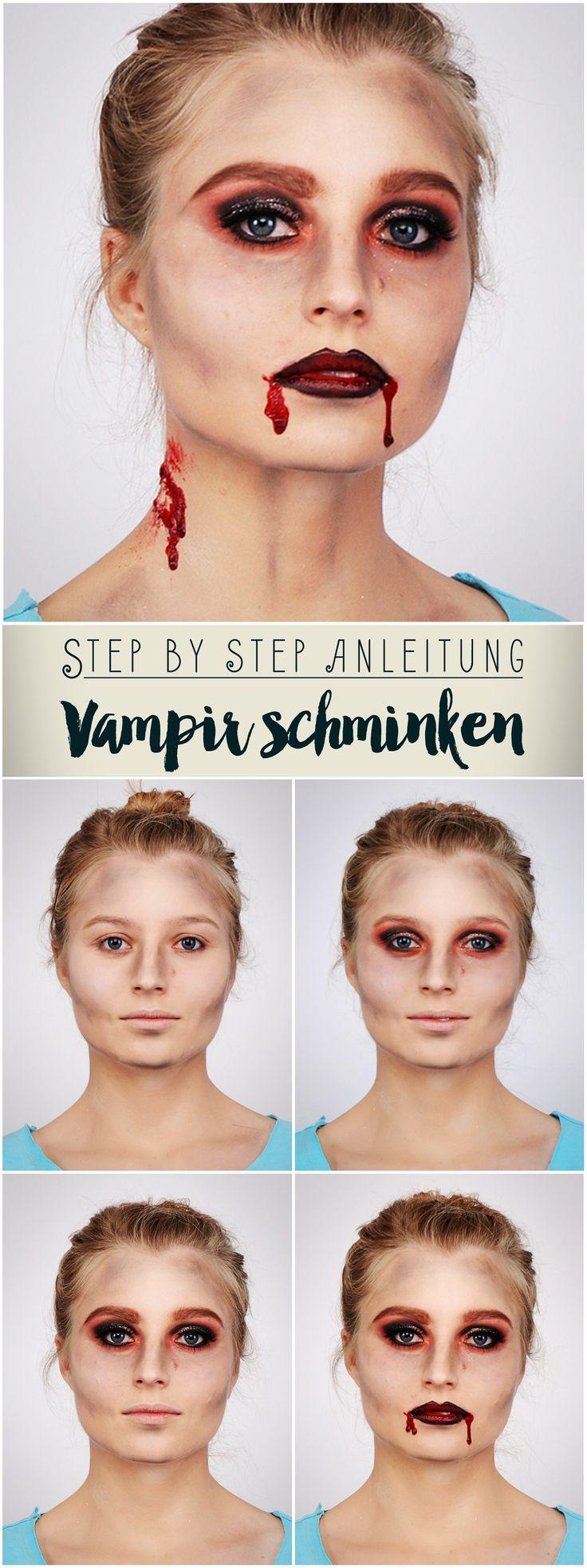 Da kann Edward Cullen einpacken: Seht hier, wie ihr euch Step by Step zum Blutsauger stylen könnt!