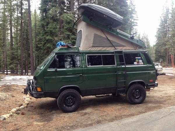 Jack For Lifted Truck >> Used RVs 1986 Westfalia Syncro Weekender by Owner $48000 ...