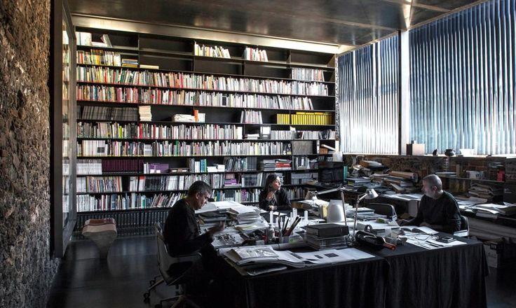 Barberí Laboratory by RCR Arquitectes, photographed by Hisao Suzuki