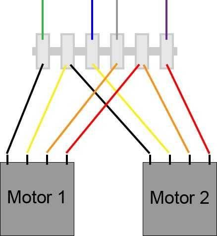 Wiring Stepper Motors In Series? - Imgur