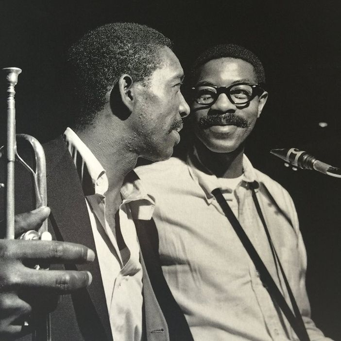 UNA MAS - KD & THE PHANTOM OF THE BOPERA. Happy Birthday to the iconic trumpeter/composer KENNY DORHAM here at classic date w/JOE HENDERSON.