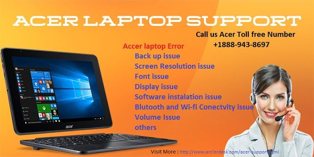Arcler desk: How to Fix and resolve Acer laptop issue?