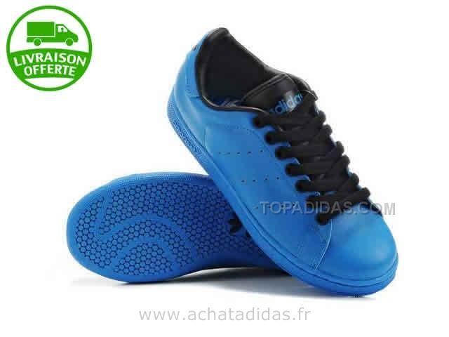 Chaussures Adidas Bleu Daim Stan Smith BerdCxoW