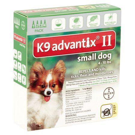 Frontline Plus  Pack Small Dog Walmart